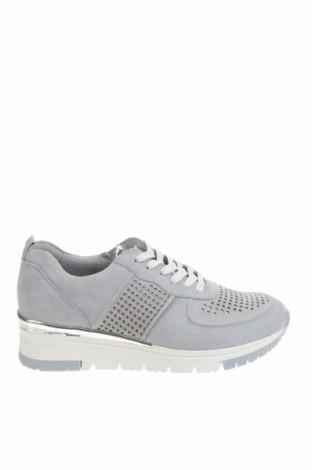 Дамски обувки Tamaris, Размер 40, Цвят Син, Естествена кожа, естествен велур, Цена 96,75лв.