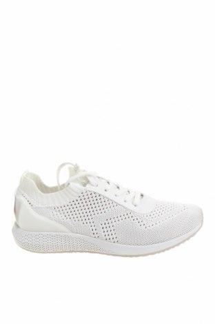 Дамски обувки Tamaris, Размер 40, Цвят Бял, Текстил, Цена 45,82лв.
