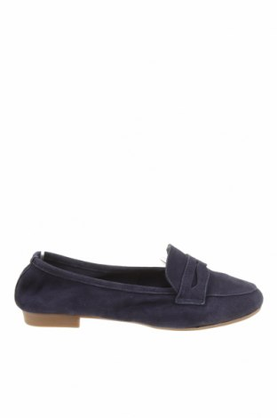 Дамски обувки Tamaris, Размер 36, Цвят Син, Естествен велур, Цена 61,92лв.