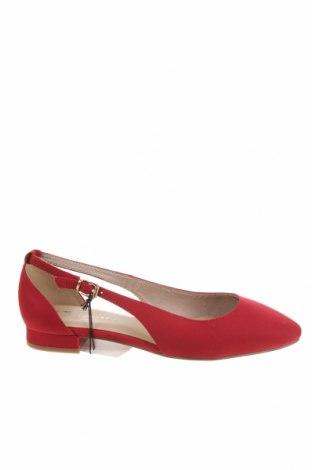 Дамски обувки Tamaris, Размер 38, Цвят Червен, Текстил, Цена 34,50лв.
