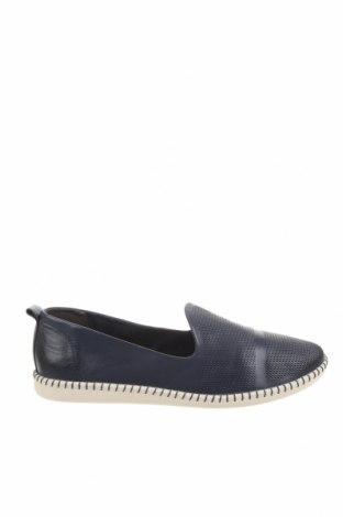 Дамски обувки Tamaris, Размер 41, Цвят Син, Естествена кожа, Цена 61,92лв.