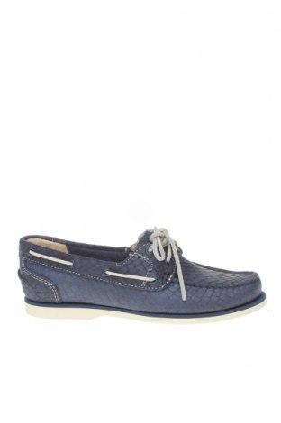 Дамски обувки Timberland, Размер 38, Цвят Син, Естествена кожа, Цена 67,25лв.