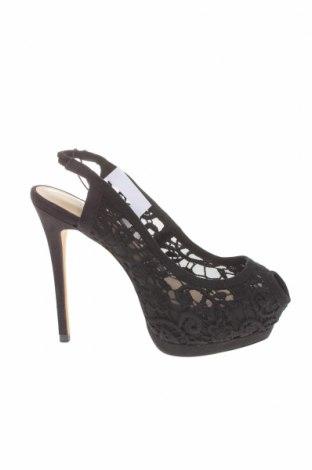 Γυναικεία παπούτσια Zara, Μέγεθος 37, Χρώμα Μαύρο, Κλωστοϋφαντουργικά προϊόντα, Τιμή 12,17€