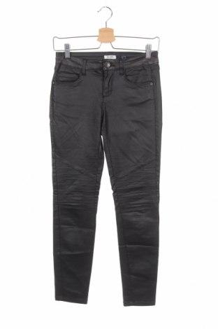 Дамски панталон, Размер XS, Цвят Черен, 77% вискоза, 20% полиамид, 3% еластан, Цена 6,16лв.