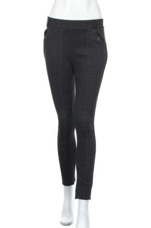 Дамски панталон, Размер L, Цвят Черен, 85% полиестер, 15% еластан, Цена 19,11лв.