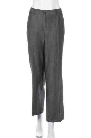 Дамски панталон, Размер XL, Цвят Сив, 62% полиестер, 34% вискоза, 4% еластан, Цена 8,88лв.