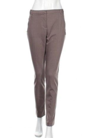 Дамски панталон Marks & Spencer Autograph, Размер L, Цвят Сив, 53% памук, 43% полиамид, 4% еластан, Цена 11,97лв.