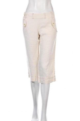 Γυναικείο παντελόνι Banana Republic, Μέγεθος S, Χρώμα Εκρού, Λινό, Τιμή 10,39€
