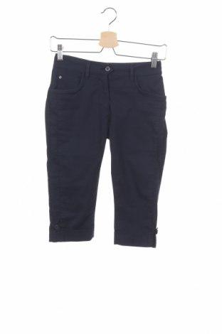 Pantaloni de femei Chervo, Mărime XXS, Culoare Albastru, 77% bumbac, 19% poliamidă, 4% elastan, Preț 34,98 Lei