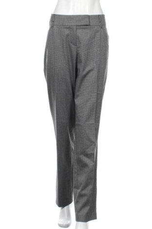 Дамски панталон Comma,, Размер XL, Цвят Сив, 64% полиестер, 34% вискоза, 2% еластан, Цена 12,60лв.