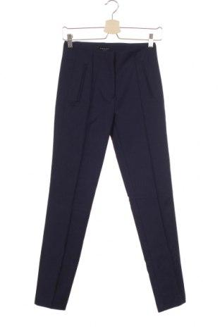Дамски панталон Cortefiel, Размер XS, Цвят Син, 58% памук, 39% полиестер, 3% еластан, Цена 31,36лв.