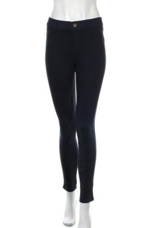 Дамски панталон Essentials by Tchibo, Размер S, Цвят Син, 58% памук, 32% полиестер, 10% еластан, Цена 8,82лв.