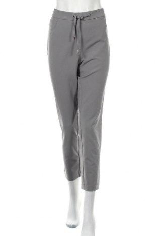 Дамски панталон Frank Walder, Размер L, Цвят Сив, 87% полиестер, 13% еластан, Цена 11,03лв.