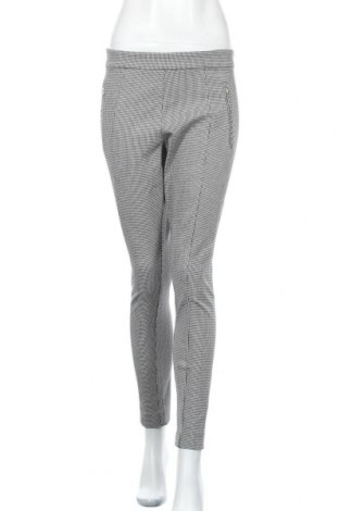 Дамски панталон H&M, Размер L, Цвят Сив, 55% вискоза, 40% памук, 5% еластан, Цена 8,82лв.