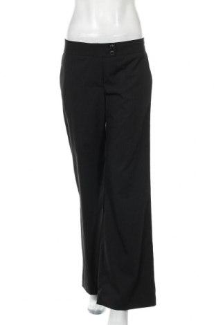 Дамски панталон H&M, Размер S, Цвят Черен, 75% полиестер, 23% вискоза, 2% еластан, Цена 7,92лв.
