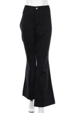 Дамски панталон INC International Concepts, Размер XL, Цвят Черен, 94% памук, 6% еластан, Цена 34,02лв.