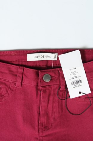 Дамски панталон Jdy, Размер XS, Цвят Червен, 98% памук, 2% еластан, Цена 10,31лв.