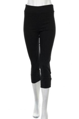 Дамски панталон Lilia, Размер S, Цвят Черен, 97% памук, 3% еластан, Цена 8,93лв.
