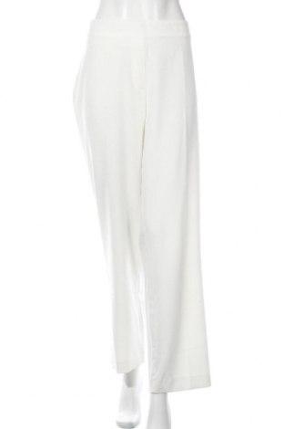 Дамски панталон Liz Jordan, Размер XL, Цвят Екрю, 69% полиестер, 26% вискоза, 5% еластан, Цена 14,18лв.