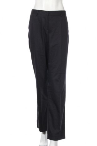 Дамски панталон More & More, Размер M, Цвят Син, 63% вискоза, 34% полиестер, 3% еластан, Цена 5,76лв.