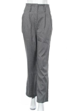 Дамски панталон Na-Kd, Размер S, Цвят Сив, 98% полиестер, 2% еластан, Цена 7,35лв.