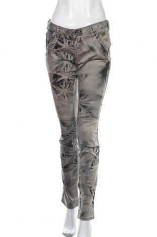 Дамски панталон Nile, Размер M, Цвят Многоцветен, 98% памук, 2% еластан, Цена 14,18лв.