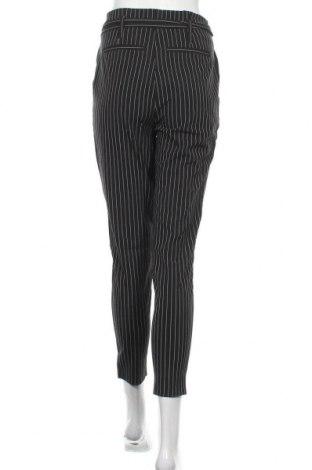 Дамски панталон ONLY, Размер S, Цвят Черен, 62% полиестер, 33% вискоза, 5% еластан, Цена 14,74лв.