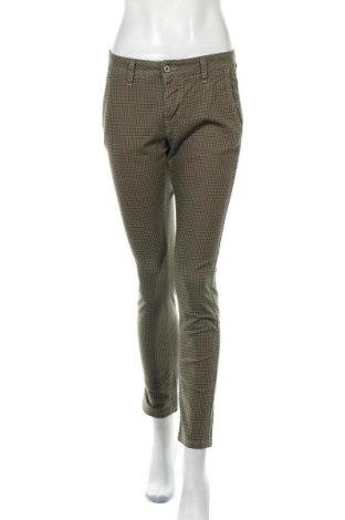 Дамски панталон Please, Размер S, Цвят Зелен, 97% памук, 3% еластан, Цена 10,24лв.