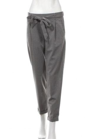 Дамски панталон Pull&Bear, Размер S, Цвят Сив, 63% полиестер, 34% вискоза, 3% еластан, Цена 8,82лв.