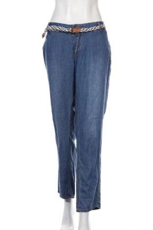 Дамски панталон S.Oliver, Размер XXL, Цвят Син, Лиосел, Цена 24,00лв.