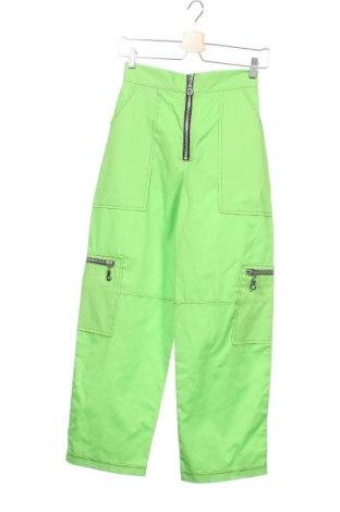Дамски панталон The Ragged Priest, Размер XS, Цвят Зелен, 65% полиестер, 35% вискоза, Цена 15,34лв.