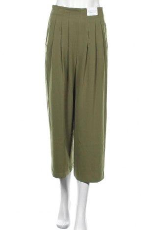 Дамски панталон Topshop, Размер S, Цвят Зелен, Полиестер, Цена 24,35лв.