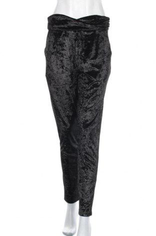 Дамски панталон Vera & Lucy, Размер M, Цвят Черен, 95% полиестер, 5% еластан, Цена 8,82лв.