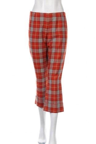 Дамски панталон Vero Moda, Размер M, Цвят Оранжев, 67% полиестер, 33% вискоза, Цена 3,00лв.