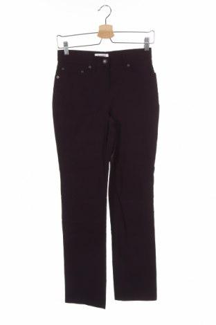 Дамски панталон Yessica, Размер XS, Цвят Лилав, 69% вискоза, 27% полиамид, 4% еластан, Цена 3,97лв.