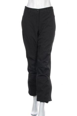 Дамски панталон за зимни спортове Crivit, Размер L, Цвят Черен, 92% полиестер, 8% еластан, Цена 18,68лв.
