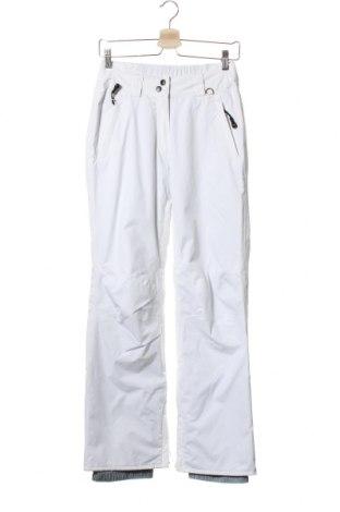 Дамски панталон за зимни спортове Obscure, Размер XS, Цвят Бял, Полиамид, Цена 18,36лв.