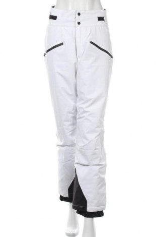 Дамски панталон за зимни спортове Oysho, Размер M, Цвят Бял, Полиестер, Цена 51,75лв.