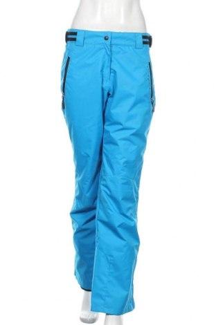 Дамски панталон за зимни спортове Powerzone, Размер S, Цвят Син, Полиестер, Цена 54,39лв.