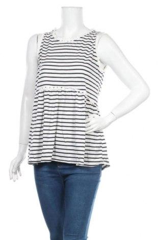 Γυναικείο αμάνικο μπλουζάκι La Morena, Μέγεθος XL, Χρώμα Μπλέ, Βαμβάκι, Τιμή 10,55€