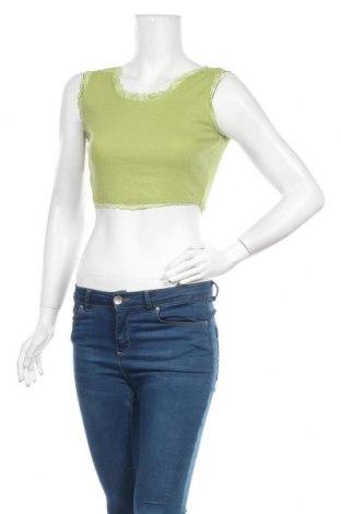 Дамски потник SHEIN, Размер S, Цвят Зелен, 70% полиестер, 25% памук, 5% еластан, Цена 14,96лв.