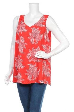 Γυναικείο αμάνικο μπλουζάκι Suzanne Grae, Μέγεθος XXL, Χρώμα Κόκκινο, Πολυεστέρας, Τιμή 3,31€