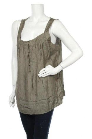 Γυναικείο αμάνικο μπλουζάκι Suzanne Grae, Μέγεθος XL, Χρώμα Πράσινο, Βισκόζη, πολυεστέρας, Τιμή 30,23€