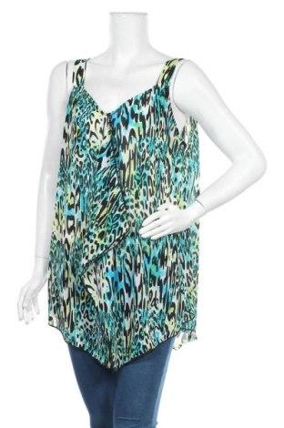 Γυναικείο αμάνικο μπλουζάκι Suzanne Grae, Μέγεθος XL, Χρώμα Πολύχρωμο, Πολυεστέρας, Τιμή 16,05€