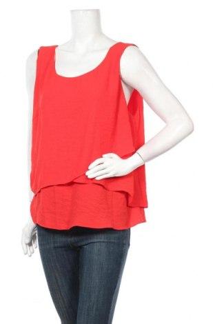 Γυναικείο αμάνικο μπλουζάκι Suzanne Grae, Μέγεθος XL, Χρώμα Κόκκινο, Πολυεστέρας, Τιμή 4,09€