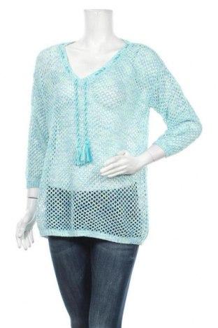 Дамски пуловер Colours Of The World, Размер L, Цвят Син, Цена 7,25лв.