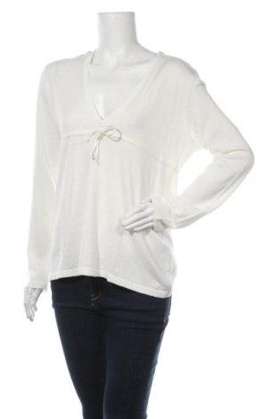 Дамски пуловер Esprit, Размер XXL, Цвят Бял, Памук, Цена 8,32лв.