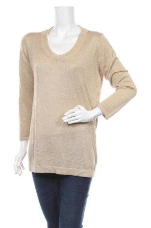 Дамски пуловер Estelle, Размер XXL, Цвят Златист, 85% вискоза, 15% полиестер, Цена 18,38лв.