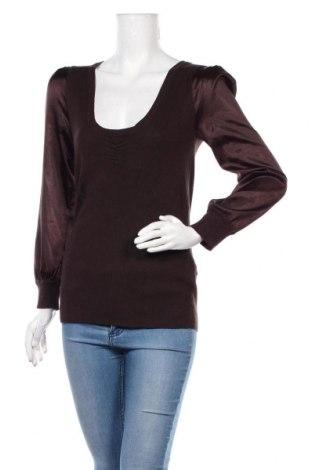 Dámský svetr Guess By Marciano, Velikost M, Barva Hnědá, 78% viskóza, 18% polyamide, 4% elastan, Cena  447,00Kč