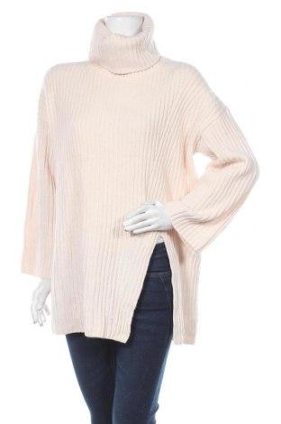 Dámský svetr H&M, Velikost XS, Barva Růžová, 95% vlna, 5% kašmír , Cena  439,00Kč